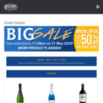 Buy 1 Get 1 Free Wine at Big Easy Beverages