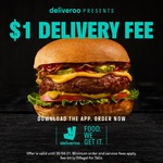 $1 Delivery at Deliveroo