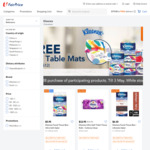 Free 4pc Table Mats with $28 Min Spend on Kleenex Products at FairPrice