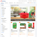 Free Electric Multi-Cooker with $148 Min Spend on Nestle Products at FairPrice On