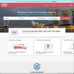 10% Off at RedBus (for Malaysia and Singapore Bookings)
