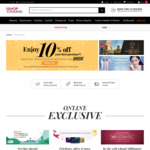10% off Sitewide at iShopChangi (New Customers)
