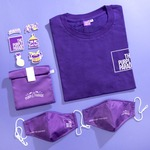 Win 1 of 5 The Purple Parade 2020 T-Shirts, The Purple Parade Iron-on Patches and $10 Suntec City Vouchers from Suntec City