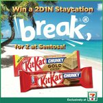 Win a 2D1N Staycation Break for 2 at Sentosa from 7-Eleven/Nestle