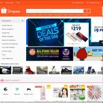 $7 off First Order at Shopee (Min Spend $15)