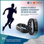 Win 1 of 5 Garmin Vivosmart HRs from FEVO