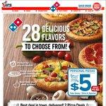 Domino's Pizza - $5 Personal Pizzas (Save $5.80)