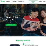 $8 off First Ride with Grab