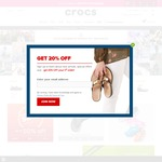 25% off Sitewide + Free Shipping at Crocs