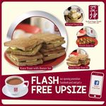 Free Coffee/Tea Upsize with Any Value Set Meal Purchase at Ya Kun Kaya Toast (Raffles Place)