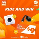 Win a Google Chromecast 2, Paperang Bluetooth Portable Printer or a $9 Shopee Voucher from oBike