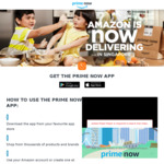 Amazon SG Prime Now Citi Visa Card Discounts ($10 off $40 for New) ($10 off $80 for Existing)