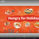 Food Vouchers at 50% off via Klook's Hungry for Holidays Promo