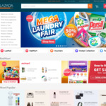 15% off Sitewide at Lazada (via App, American Express Cards)