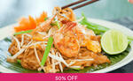 1 for 1 Lunch / Dinner Set ($7) Tha Siam Thai Kitchen via Fave