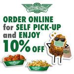 10% off Pickup Orders at Wingstop