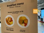 Western Breakfast for $5 at IKEA (Alexandra)