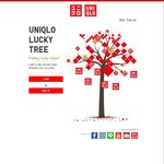 UNIQLO Lucky Tree - Win Online Vouchers, Gift Cards, Dinnerware Sets, Dining/Shopping/Buffet Vouchers and Hotel Getaways