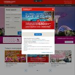 Hotels.com SG Promotion - Save $30 When You Spend $300 or More on Hotel Bookings