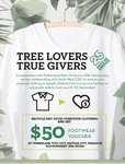 Timberland - Recycle Old Clothing and Get a Free $50 Footwear Voucher