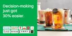 30% off Selected Dishes at Toast Box, Tuk Tuk Cha, Gong Cha, Yolé, Cedele, Pezzo Pizza, Lou Yau, QQ Rice & More via GrabFood