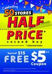 Spend $15, Get a $5 off ($15 Min Spend) Return Coupon at Japan Home