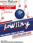 Free Bowling Hours at Orchid Bowl for Members on Oct 3 (SAFRA Yishun)