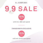 10% off ($99 Min Spend) or 15% off ($129 Min Spend) at ORBIS