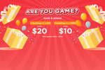$20 Cash Voucher (Attend 2 Bookings In 1 Day) or $10 Cash Voucher (Attend 3 Bookings In 1 Week) at eatigo