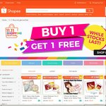 Buy 1, Get 1 Free Items at Shopee (e.g. 2 x Sandisk 8GB Flash Drive)