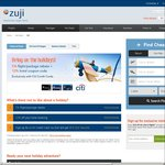 5% off Flight/Package Rebate + 12% off Hotel Booking at ZUJI Singapore with CITI Credit Card