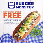Free Bulgogi Beef Roll at Burger Monster (Facebook Required) [Jurong East]