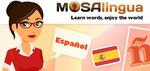 Free Learn Spanish with MosaLingua (U.P. $7.98) [Android & iOS]
