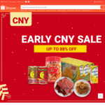 $5 off ($40 Min Spend) or $8 off ($80 Min Spend) Food & Beverage Categories at Shopee