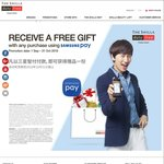 Free Gift With Any Purchase Using Samsung Pay at The Shilla Duty Free (Changi Airport)