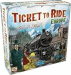 Prime Day Board Games on Sale - TTR: Europe $34  & More at Amazon + 10% Boosted ShopBack Toys Cashback