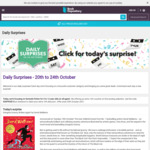 10% off on Selected Fiction at Book Depository