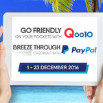 Qoo10 - $10 off Min. $50 Spend | $50 off Min. $300 Spend (with PayPal)