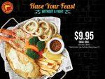 Fish & Prawn Small Grill Set for $9.95 (U.P. $16.95) at Manhattan Fish Market