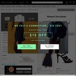 Zalora Spend & Save - 20% off When You Spend $100, 30% off When You Spend $150 on Selected Items