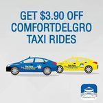 ComfortDelGro - $3.90 off Taxi Fares