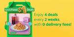 $1 with Free Delivery Deals at Chachako, Mr Bean, Sharetea and SriSunPrata.com via GrabFood
