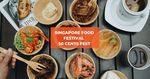 Additional 50% off Selected Dishes at Chinatown 50 Cents Food Fest 2019 via Klook