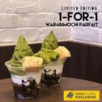 1 for 1 Warabimochi Parfait ($9.80) at TSUJIRI [Instagram Required]