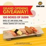 Free 5 Piece Sushi Box from Genki Sushi (Suntec City)