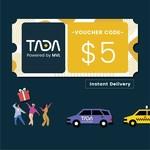 $5 TADA Promo Code for $3 from TADA via Shopee