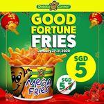 Mega Fries for $5 (U.P. $5.70) at Potato Corner