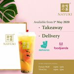 1 for 1 Drinks at Nayuki