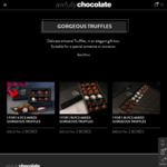1 For 1 Boxed Chocolate Truffles 2x6 pc $18, 2 x 18pc $45, 2 x 36pc $88 + $15 Delivery/Free With $120 @ Awfully Chocolate