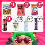 7-Eleven Deals: $1 Famous Amos Cookies, $1 Coca Cola, $1.30 Cabury Dairy Milk Bar, $2 Walla Walla, $2 UPC Coconut Water